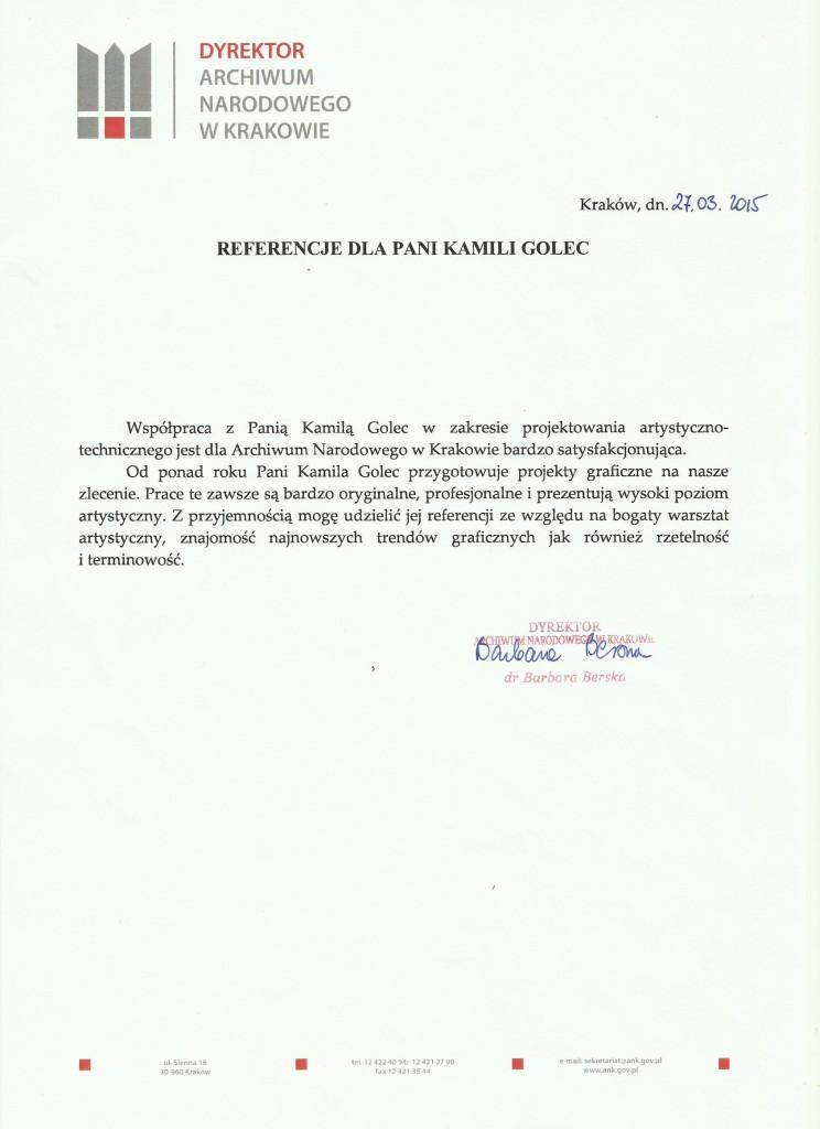 ANK_Ref_Kamila_Golec